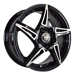 NZ Wheels SH661 7x17/5x110 D65.1 ET39 BKF