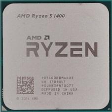 AMD Ryzen 5 1400 Summit Ridge (AM4, L3 8192Kb)