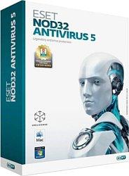 NOD32 Антивирус 5 (3 ПК, 1 год)