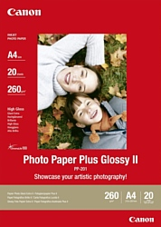 Canon Photo Paper Plus Glossy II PP-201 A4 260 гм2 20 л