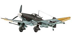 Revell 04692 Немецкий бомбардировщик Junkers Ju87 G/D Tank Buster