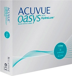 Johnson & Johnson 1 Day Acuvue Oasys with HydraLuxe -1.25 дптр 8.5 mm (90 шт)