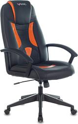 Бюрократ VIKING-8/BL+OR (черный/оранжевый)