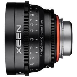Xeen 20mm T1.9 Sony E