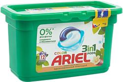 Ariel 3 в 1 Аромат масла ши (12 шт)