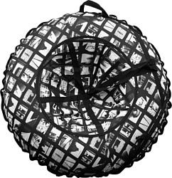 Emi Filini Калейдоскоп 120 см (черный/белый)
