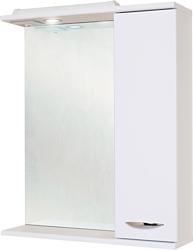 Onika Шкаф с зеркалом Ника 60.01 правый (белый) (206016)