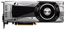GIGABYTE GeForce GTX 1070 1506Mhz PCI-E 3.0 8192Mb 8000Mhz 256 bit DVI HDMI HDCP