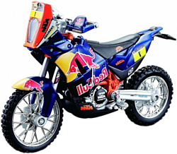 Bburago Red Bull Factory racing КТМ 450 Dakar Rally 18-51071