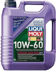 Моторное масло Liqui Moly Synthoil Race Tech GT1 10W-60 5л - фото 2