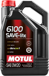 Motul 6100 Save-light 0W-20 4л