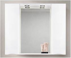 BelBagno Шкаф с зеркалом Marino-SPC-1000/750-2A-BL-P (bianco lucido)