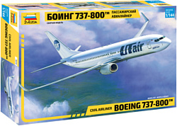 Звезда Пассажирский авиалайнер Боинг 737-800