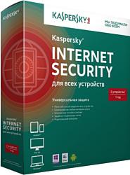 Kaspersky Internet Security 2015 Multi-Device (2 ПК, 1 год, базовый)