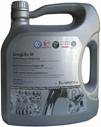 AUDI/Volkswagen Longlife III SAE 5W-30 5л