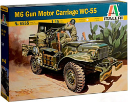 Italeri 6555 Самоходная артиллерийская устновка M6 WC-55