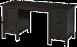 Ikea Хемнэс (черный/коричневый) 903.847.96