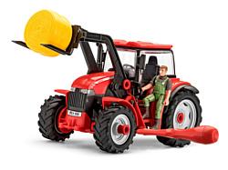 Revell 00815 Трактор с погрузчиком и фигуркой