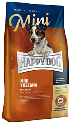 Happy Dog (1 кг) Supreme - Mini Toscana с уткой и лососем