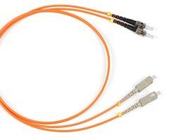 Patch cord Duplex ST - SC 1 м