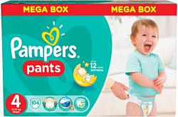 Pampers Pants 4 Maxi 104шт