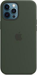 Apple MagSafe Silicone Case для iPhone 12 Pro Max (кипрский зеленый)