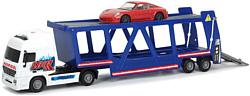 DICKIE Трейлер автовоз и машинка Porsche 20 374 7004
