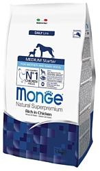 Monge Dog Medium Starter (1.5 кг)