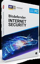 Bitdefender Internet Security 2019 Home (3 ПК, 3 года, полная версия)