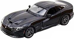 Maisto Додж Вайпер SRT GTS 31271 (черный)