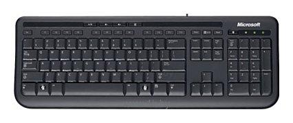 Фотографии Microsoft Wired Keyboard 600 Black USB