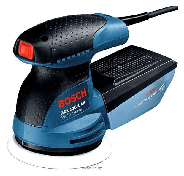Фотографии Bosch GEX 125-1 AE (0601387501)