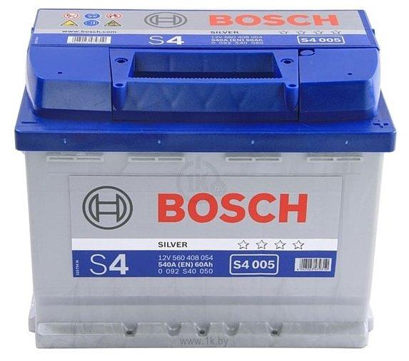 Фотографии Bosch S4 Silver S4005 560408054 (60Ah)
