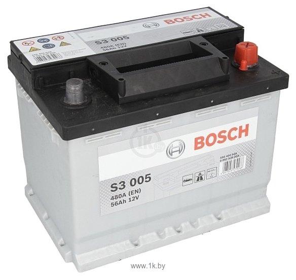 Фотографии Bosch S3 S3005 556400048 (56Ah)