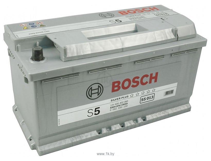Фотографии Bosch S5 Silver Plus S5013 600402083 (100Ah)
