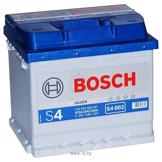 Фотографии Bosch S4 Silver S4002 552400047 (52Ah)