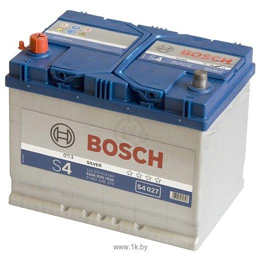 Фотографии Bosch S4 Silver S4027 570413063 (70Ah)