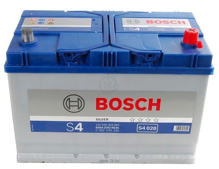Фотографии Bosch S4 Silver S4028 595404083 (95Ah)