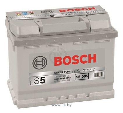 Фотографии Bosch S5 Silver Plus S5005 563400061 (63Ah)