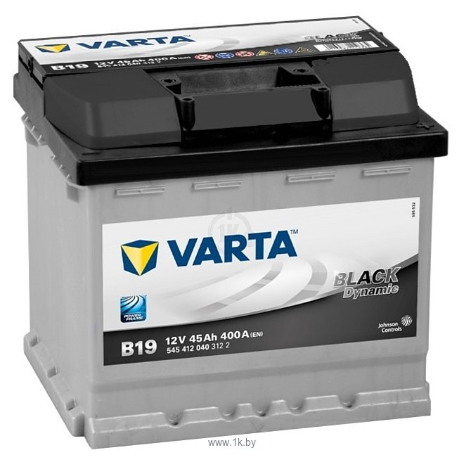 Фотографии VARTA BLACK Dynamic B19 545412040 (45Ah)