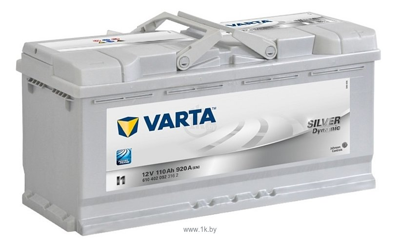 Фотографии VARTA SILVER Dynamic I1 610402092 (110Ah)