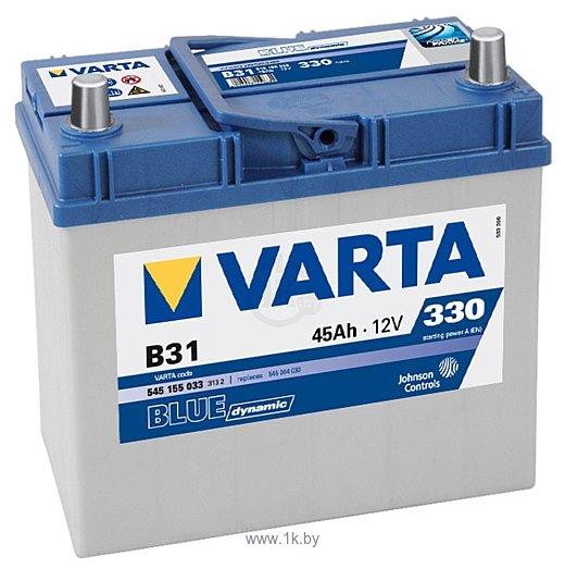 Фотографии VARTA BLUE Dynamic B31 545155033 (45Ah)
