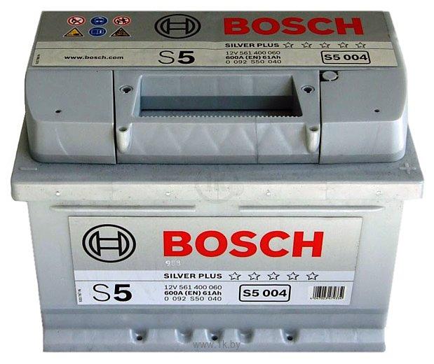Фотографии Bosch S5 Silver Plus S5004 561400060 (61Ah)