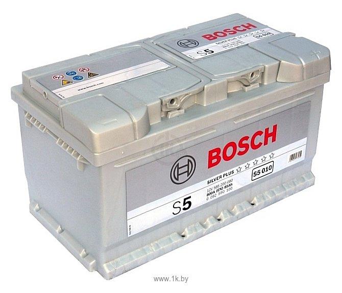 Фотографии Bosch S5 Silver Plus S5010 585200080 (85Ah)