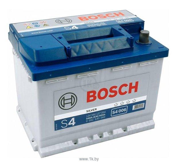 Фотографии Bosch S4 Silver S4006 560127054 (60Ah)