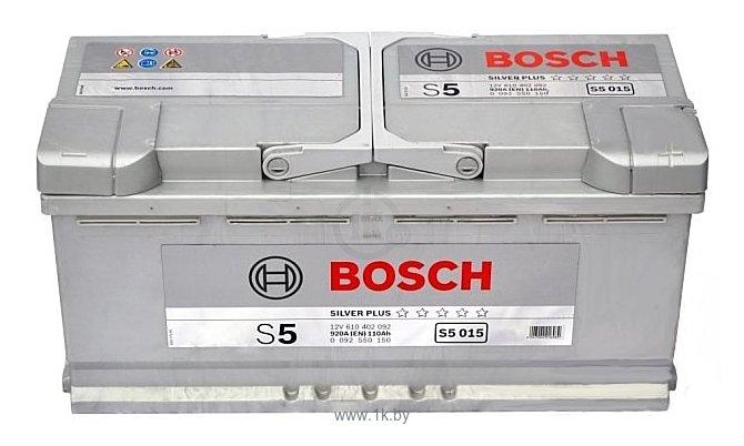 Фотографии Bosch S5 Silver Plus S5015 610402092 (110Ah)