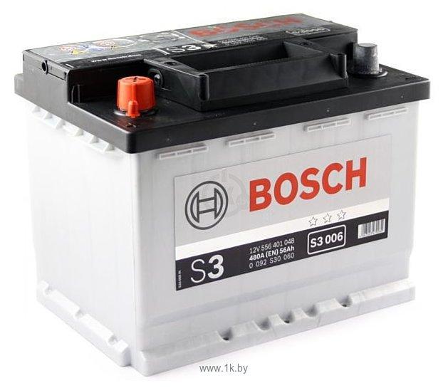 Фотографии Bosch S3 S3006 556401048 (56Ah)