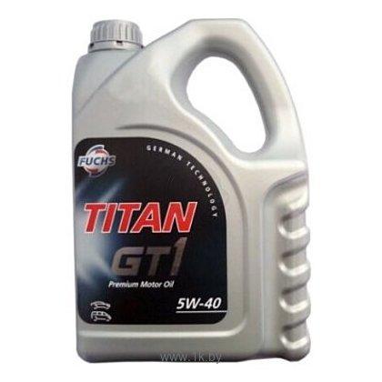 Фотографии Fuchs Titan GT1 5W-40 1л