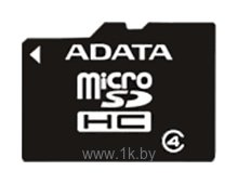 Фотографии ADATA microSDHC Class 4 8GB + SD adapter