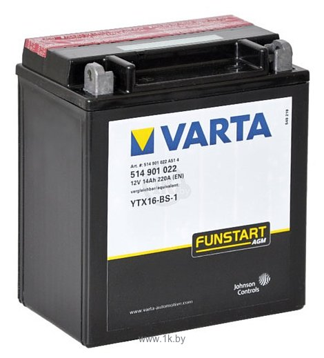 Фотографии VARTA FUNSTART AGM 514901022 (14Ah)